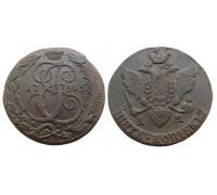 5 копеек 1795 КМ