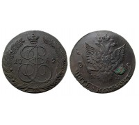 5 копеек 1782 КМ