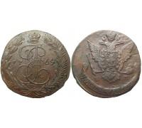 5 копеек 1769 ЕМ (перегравировка)
