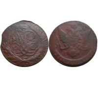 5 копеек 1759 ММ (Биткин R)