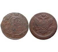 5 копеек 1765 ЕМ