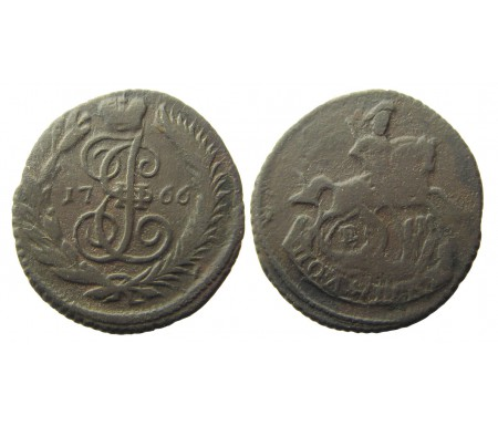 Полушка 1766 ЕМ