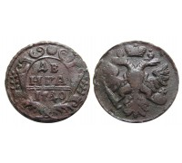 Монета Деньга 1740