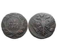 Монета Деньга 1731 (одна черта)