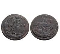 Деньга 1767 ЕМ (перегравировка)