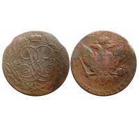 5 копеек 1758 ММ
