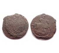 2 копейки 1769 ЕМ (вырубка из пятака)