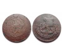 2 копейки 1788 ММ (перечекан)