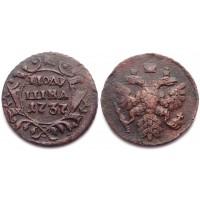 Полушка 1737