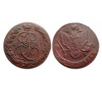 5 копеек 1785 ЕМ